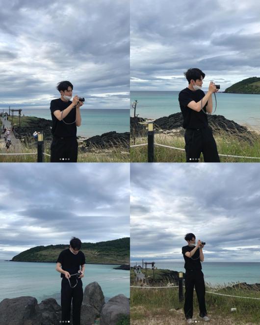 在自然景观中 邕圣祐分享他写真般的日常照片
