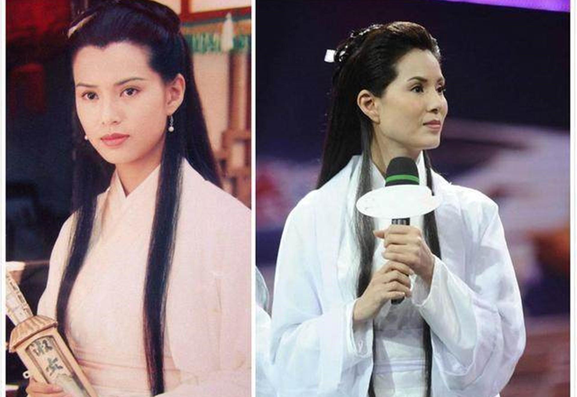 时隔20多年,明星再扮演经典角色,李若彤雪梨朱茵张智霖谁变化大
