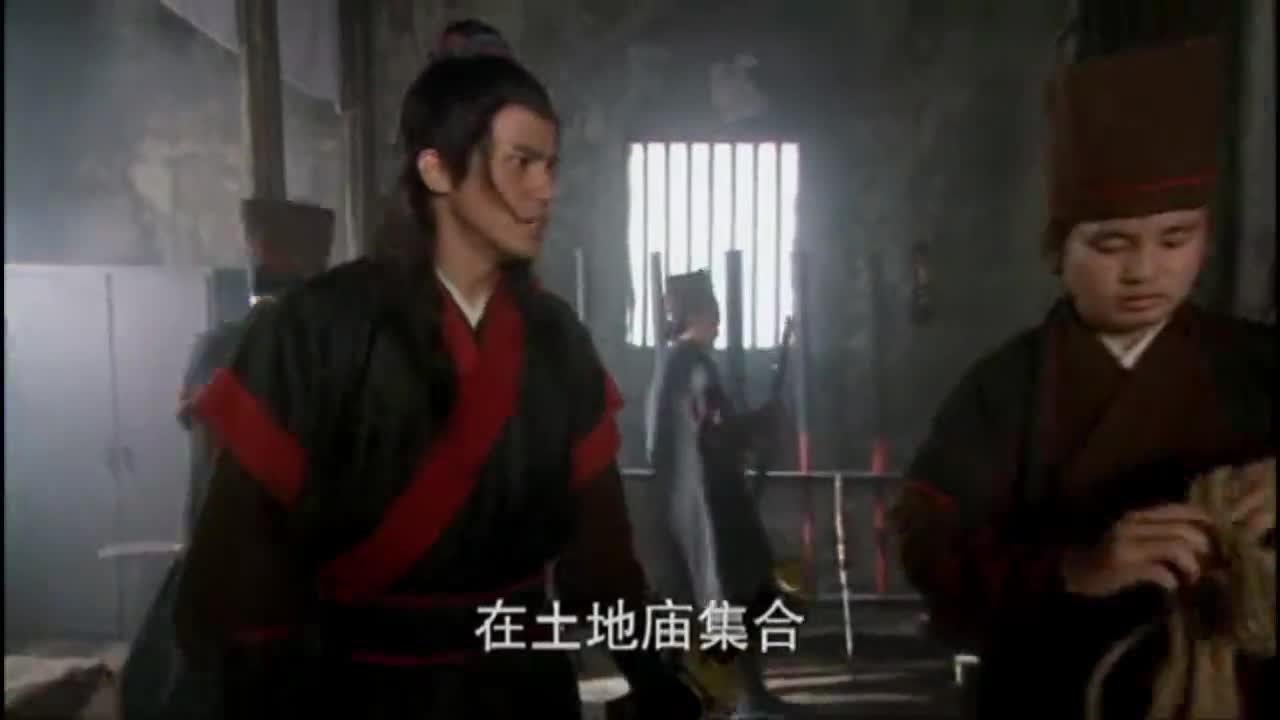 5人披着老虎皮在景阳冈吓唬人,没想到被武松抓个正着