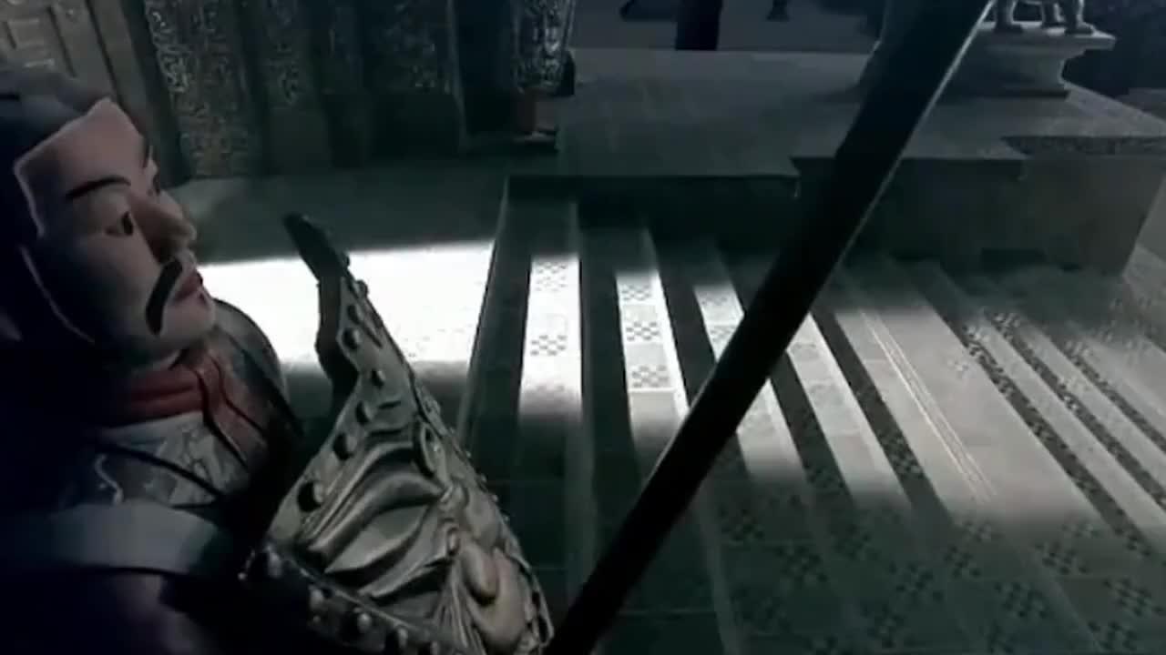 始皇帝来到皇陵,一声大吼唤醒所有兵马俑,振奋人心