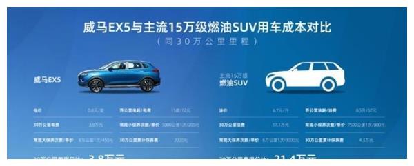 威马EX5行驶30万公里!电池衰减仅为4.29% 比燃油车省17万