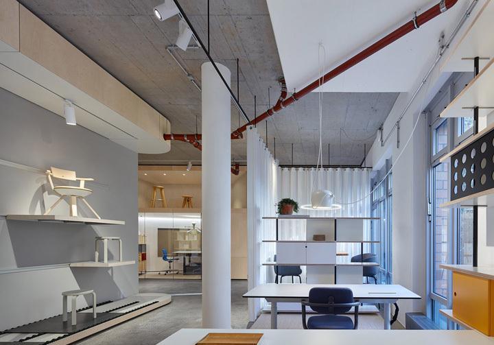 德国家具公司办公室 商业展厅与日常办公