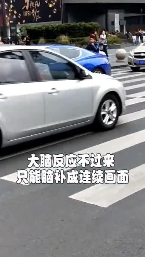 为什么豪车车轮看起来像滑着走?