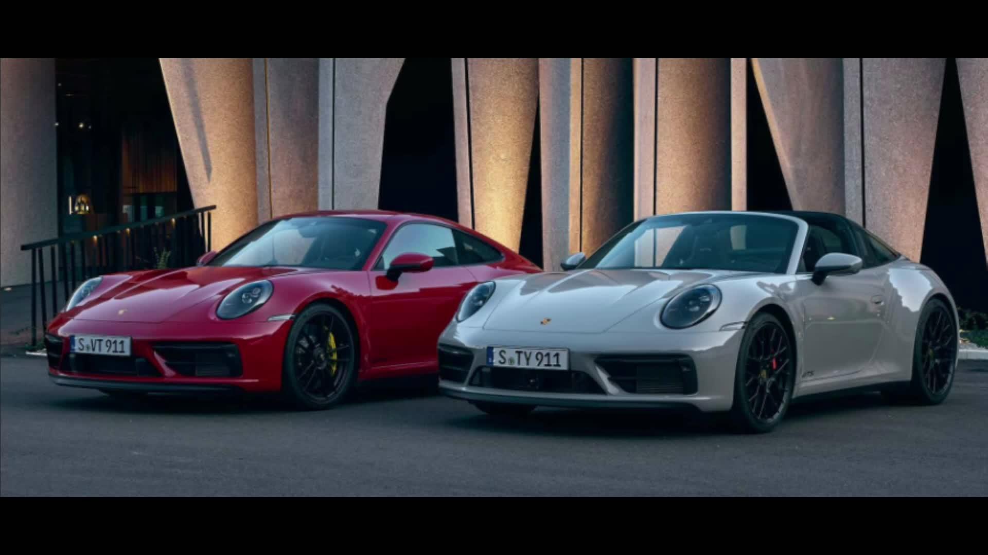 视频:全新911 Carrera GTS发布,零百仅需3.3s-视频版