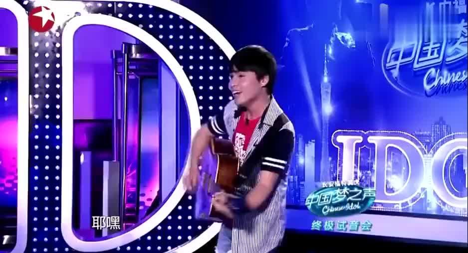 小伙演唱自己原创歌曲,韩红怒怼毫无唱功!