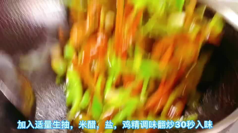 下饭菜青椒肉丝怎样做好吃?分享我的家常菜,清香脆爽入味鲜香