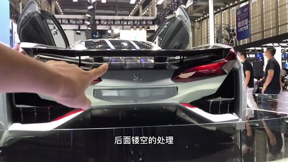 """国产再添一台""""跑车""""!全新极狐GT首次亮相,不只有蔚来EP9"""