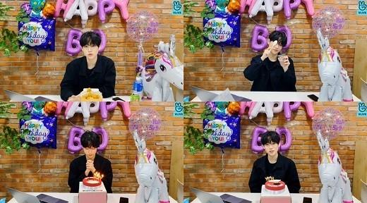 琴东贤与粉丝度过了特别的生日 表示一生难忘的回忆