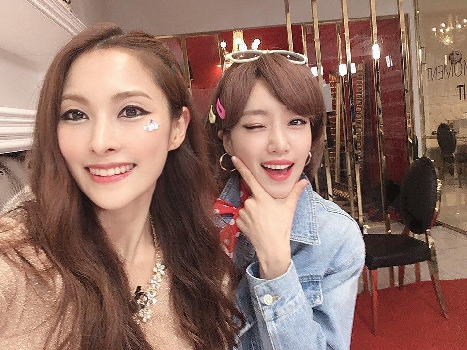 KARA朴奎利&T-ARA咸恩静《Mr.》和《Roly-Poly》翻拍 受到粉丝的热烈反响