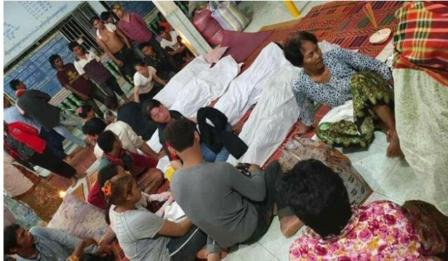"""柬埔寨一户人家过""""清明节""""遭雷击,6死4伤"""