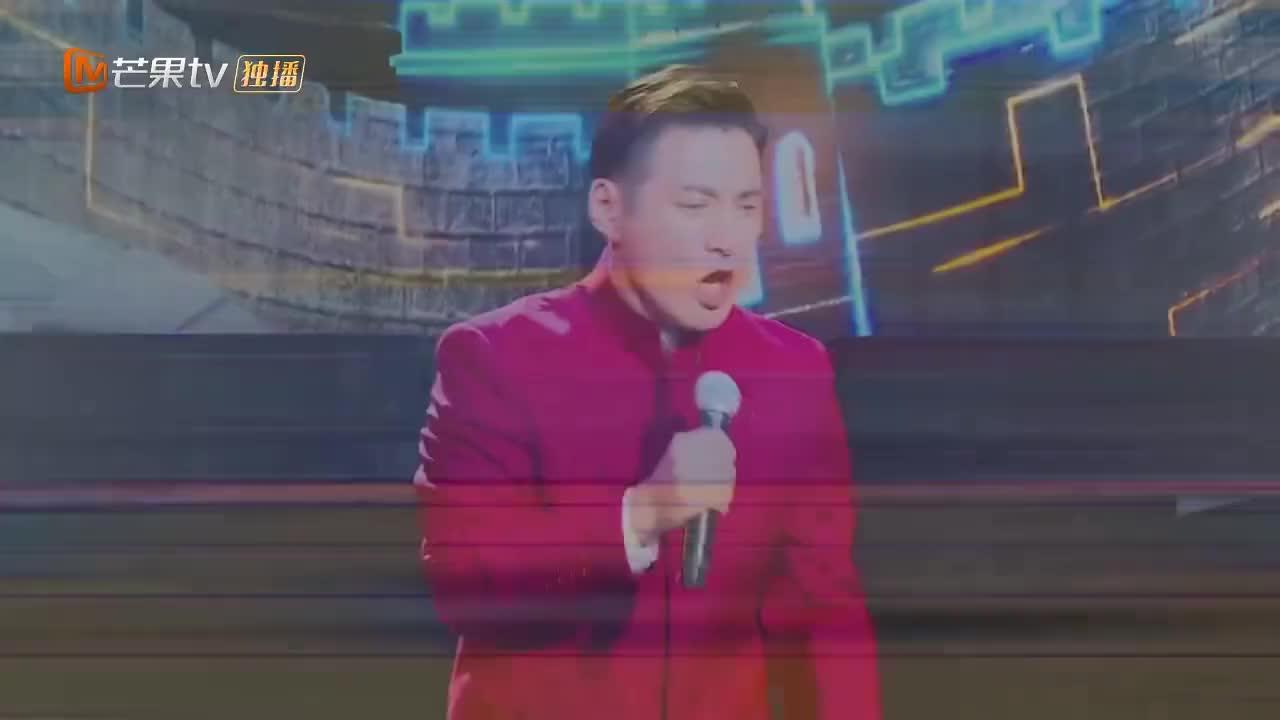 跨界歌王严屹宽直言离开舞台多年再次站在舞台上唱歌压力大