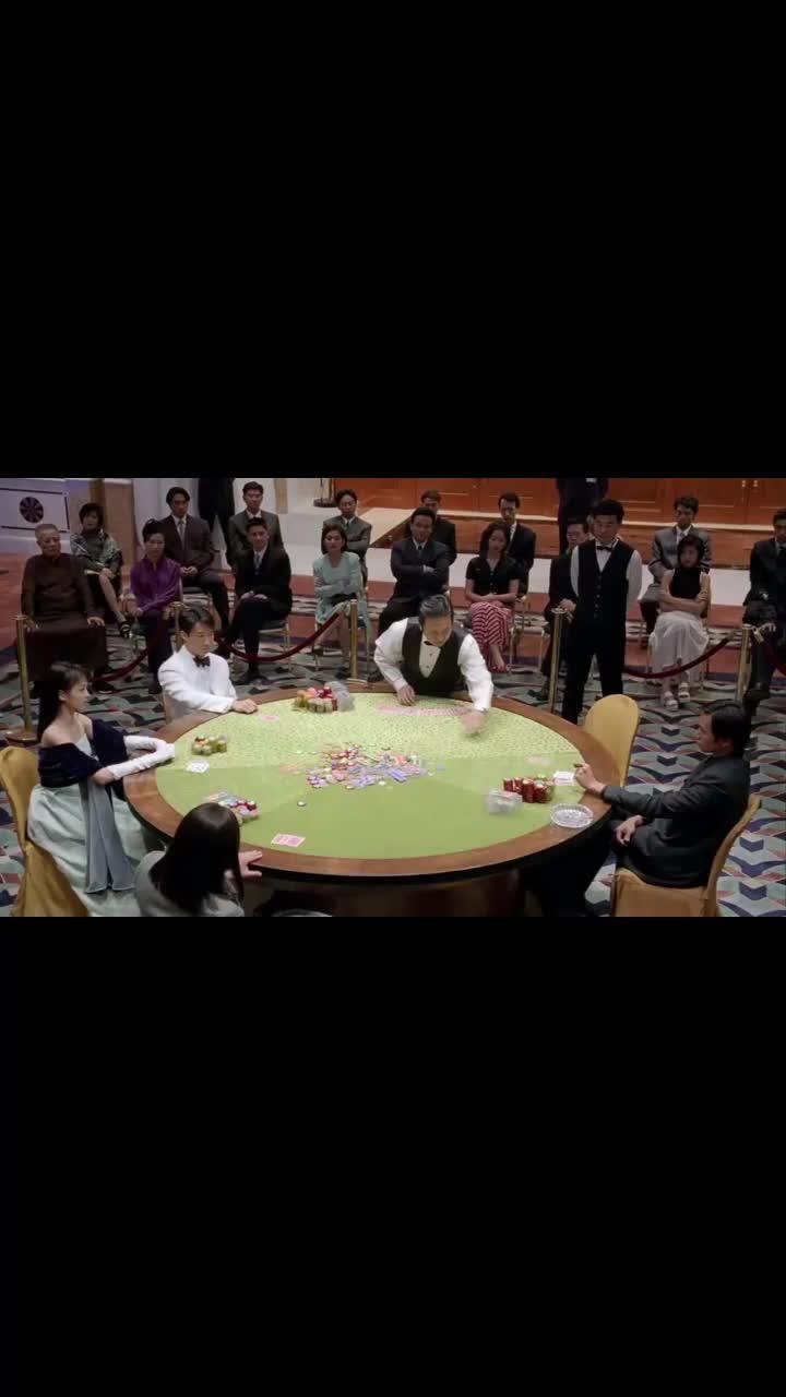 陈豪很嚣张,赌博不看底牌,直接压5000万!