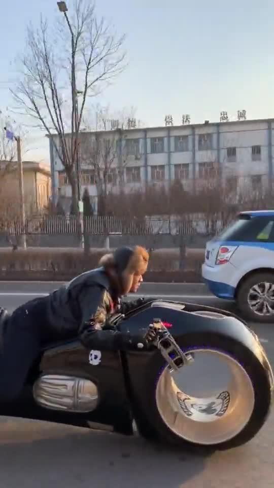 这么特别的摩托车,你见过吗