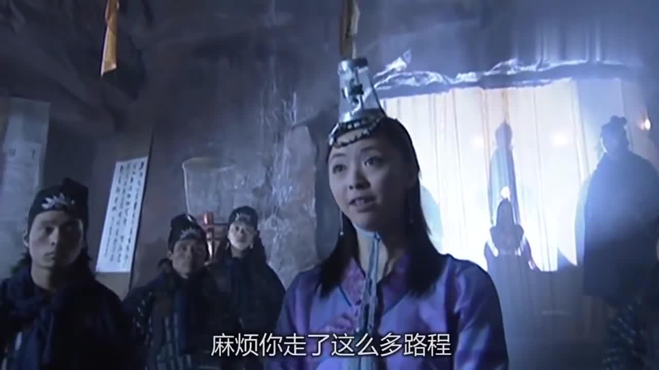 天龙八部:虚竹选驸马,才答一个问题,公主吓得茶杯都握不稳