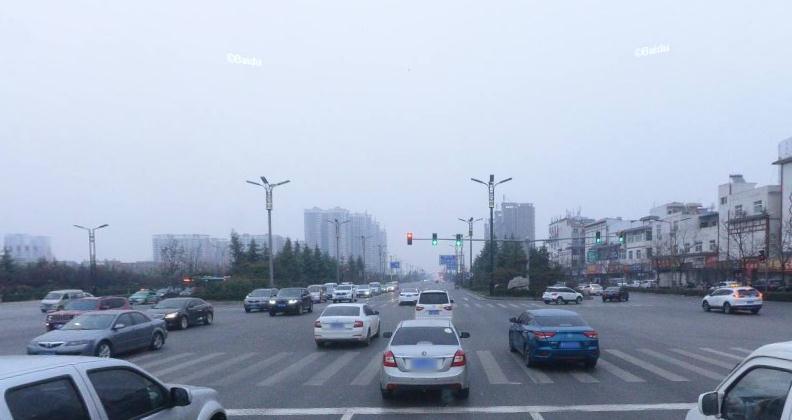 龙门大道中段绿化带设计是否合理?面积过大 挡住视线 影响交通