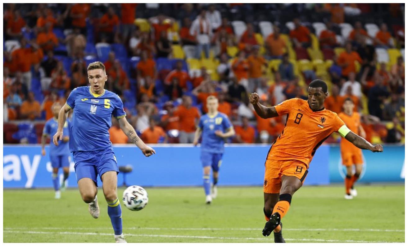 英格兰一人重创荷兰队 维纳尔杜姆的进球让克洛普的努力白费了