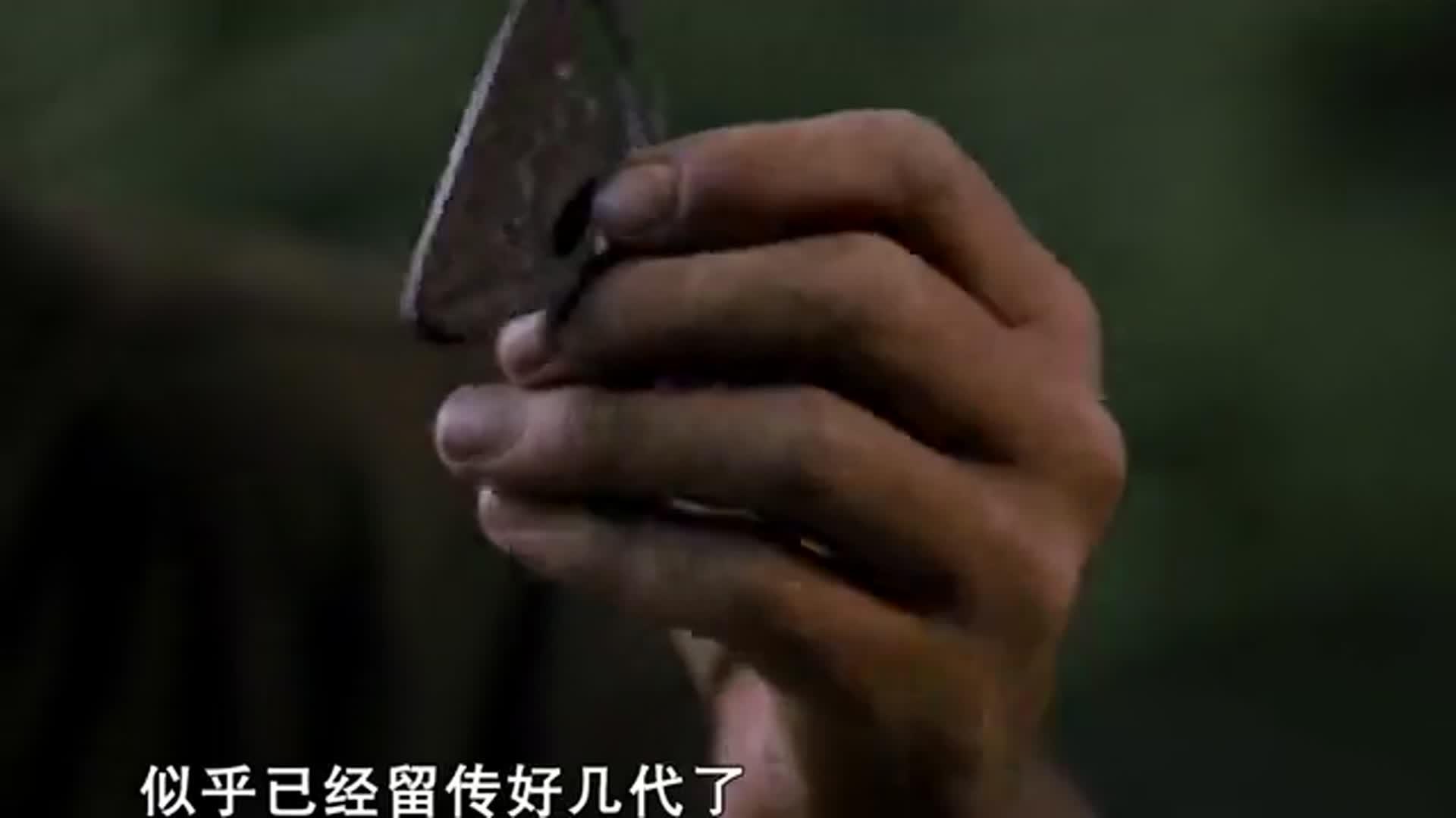 黑森中国历险记:黑森体验原始点火器,粗犷的方法烹饪竹鼠