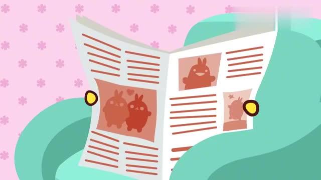 《萌浪兔1》第15集:萌浪兔和小鸡被冻坏了,直接回家