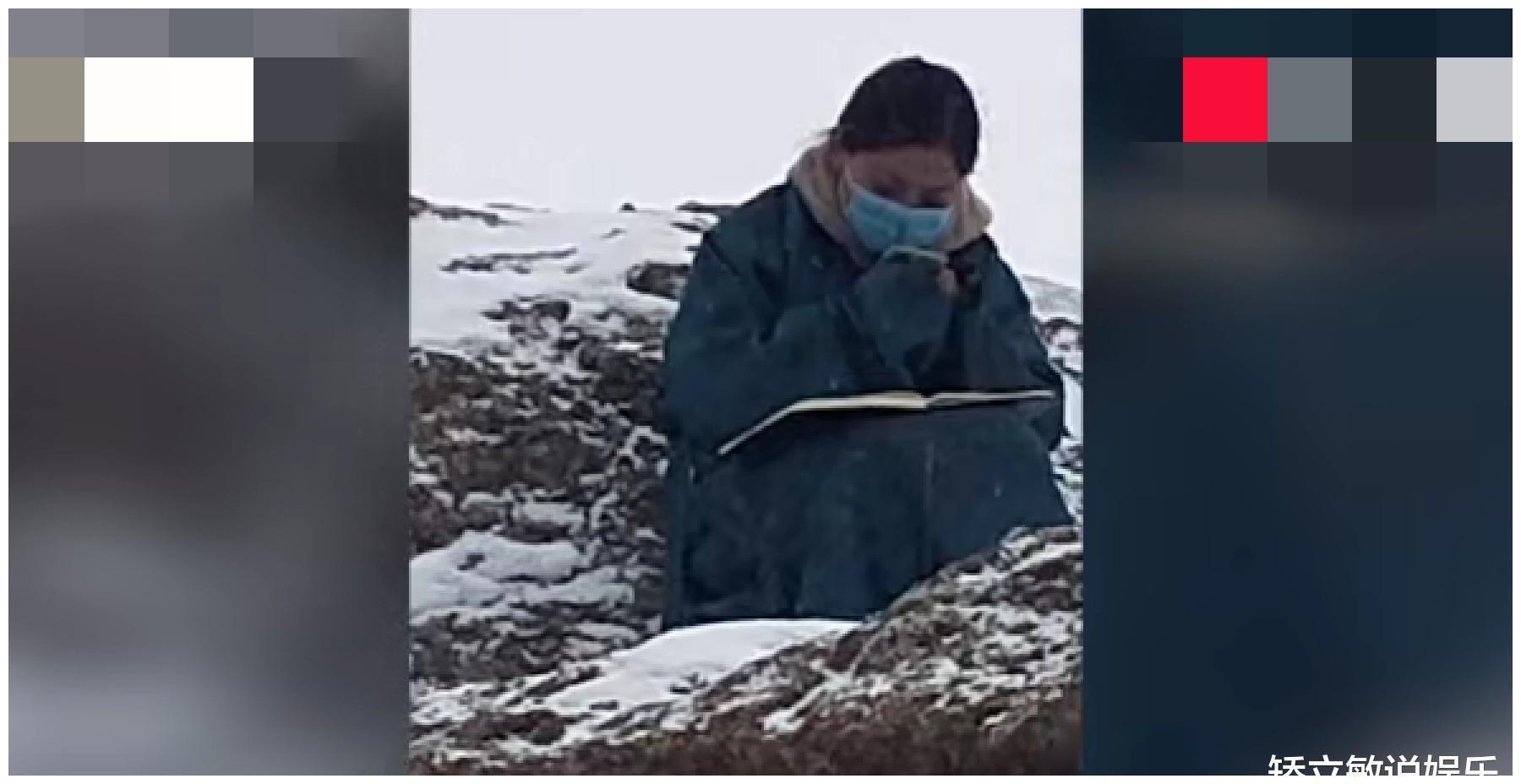 西藏女孩海拔4800米雪地找信号上网课,网友:这才是勤学者的高度图2