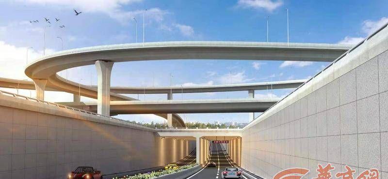 西安凤城八路下穿通道将于6月30日前通车 车辆可直达奥体中心