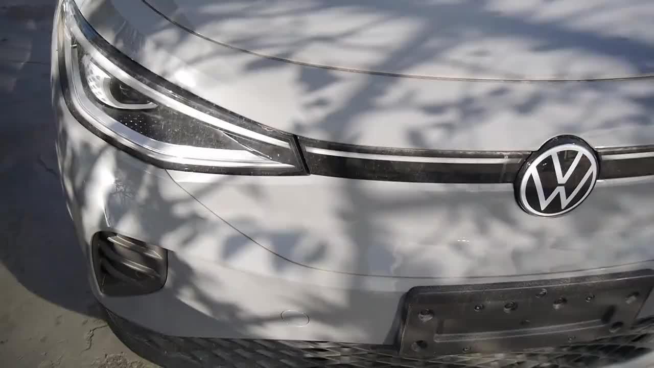 大众新能源车到店实拍
