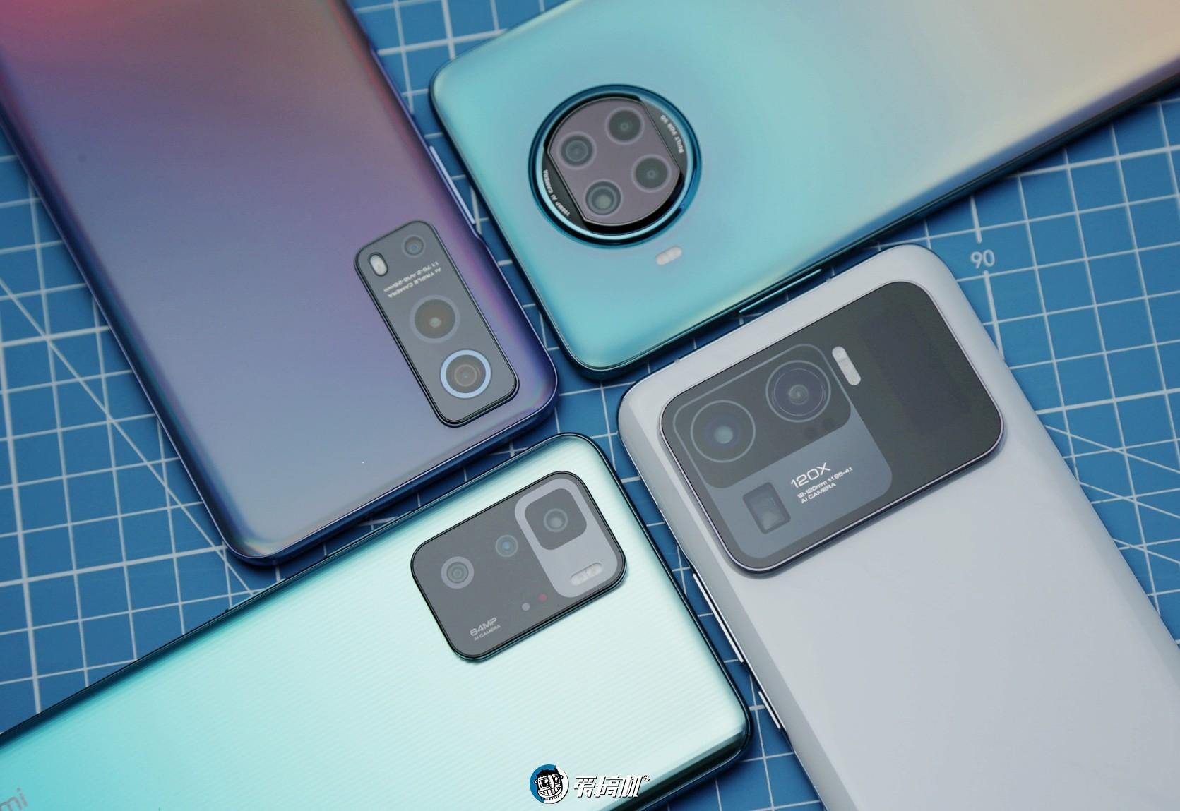 纯粹好奇,Redmi Note10 Pro-Note9P-iQOO Z3-小米11U拍照对比