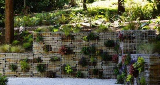石笼网在景观设计中的优势及应用