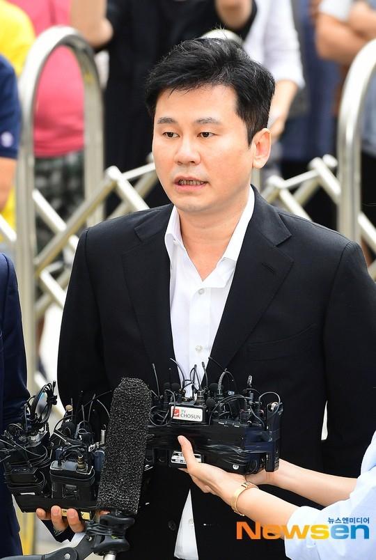 检方驳回前代表YG梁铉锡的拘捕令申请 继续进行不拘留调查