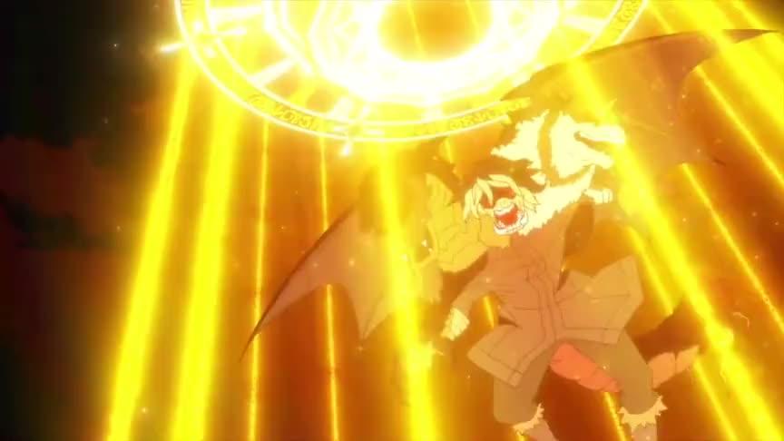 利姆露VS日向,简直燃爆了!