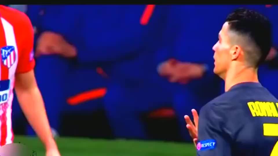 就是这么霸气,C罗让马竞球迷最难忘的10个瞬间,你们得长记性