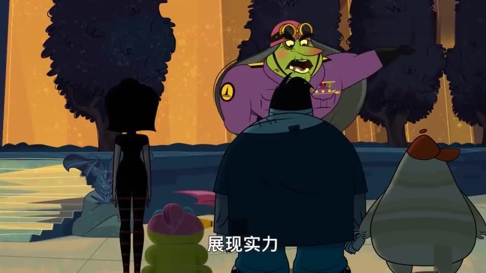 精灵旅社:小鼻涕虫梦想当夜间守卫者,结果梅维斯阴差阳错的当选