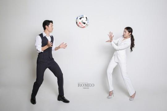 朴宝美与足球选手朴耀汉将于12月6日结婚 公开缠绵的婚纱写真