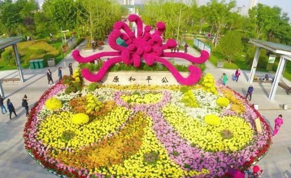 """山西""""最受欢迎""""公园占地迎泽公园一半 交通便利 游客众多"""