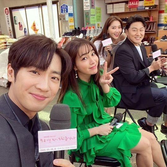 李珉廷&李相烨等公开了新电视剧《结过一次了》成员们的集体照