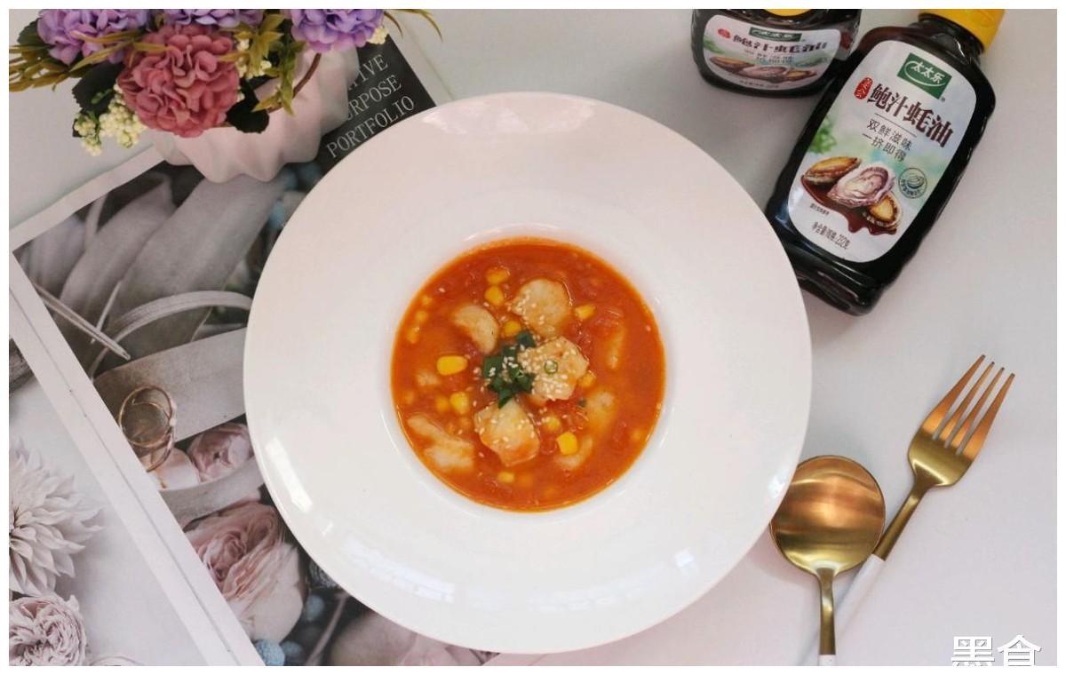 低脂饱腹的茄汁玉米龙利鱼,比红烧肉更满足,十分可口