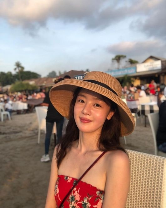 Secret韩善花公开1年前在巴厘岛的照片