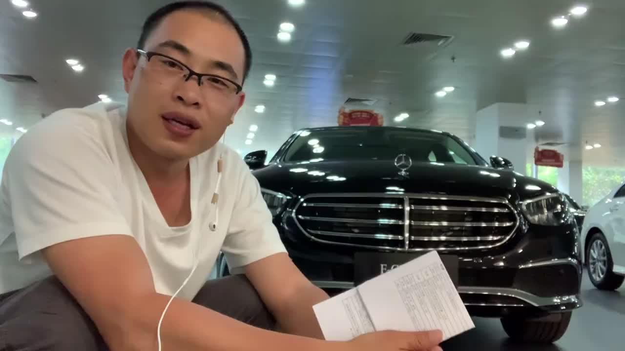 视频:别光盯着5系!实车探店奔驰E级,到底多少能落地?