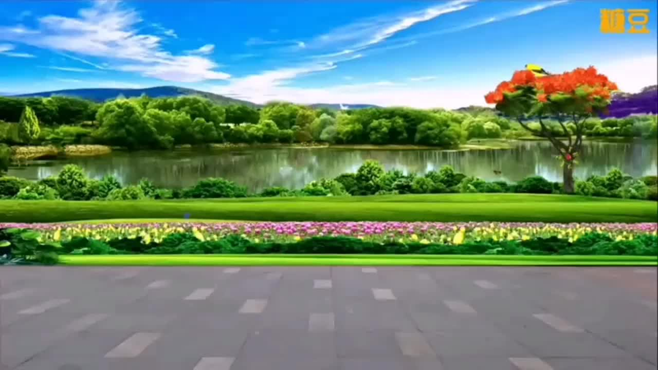 DJ广场舞《鸟儿对花说》,歌甜舞美,欣赏啦