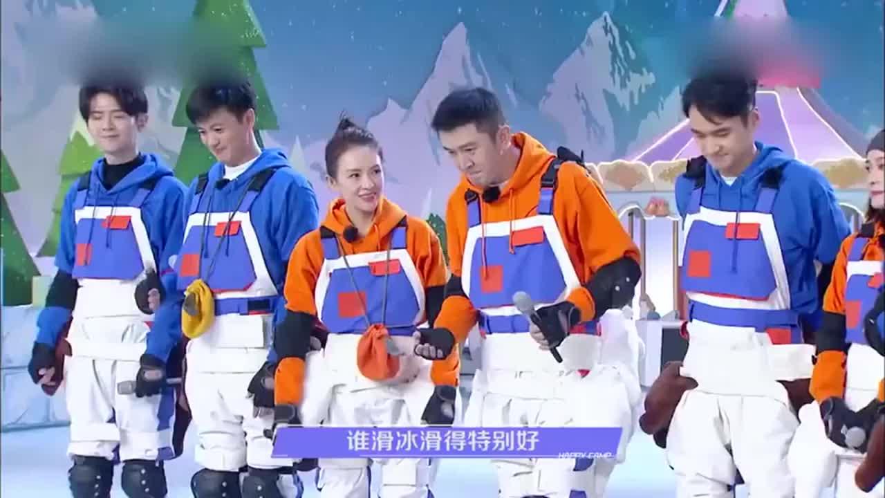 张雪迎滑冰还会漂移,一个动作帅