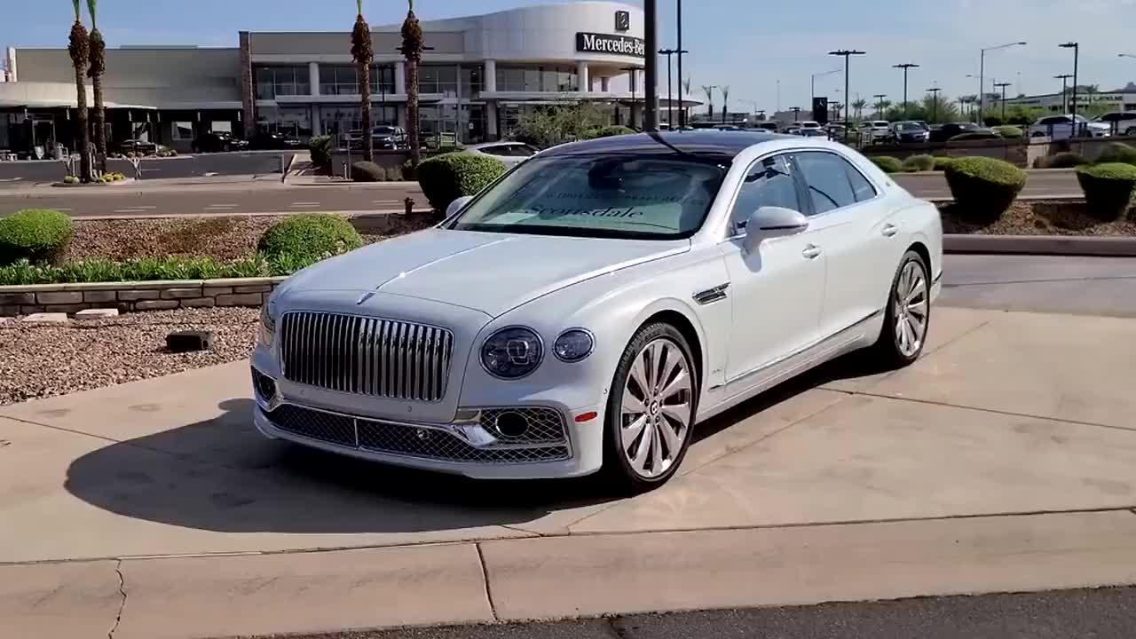 宾利飞驰 完美无瑕的贵族血统,满满的奢华感,豪车