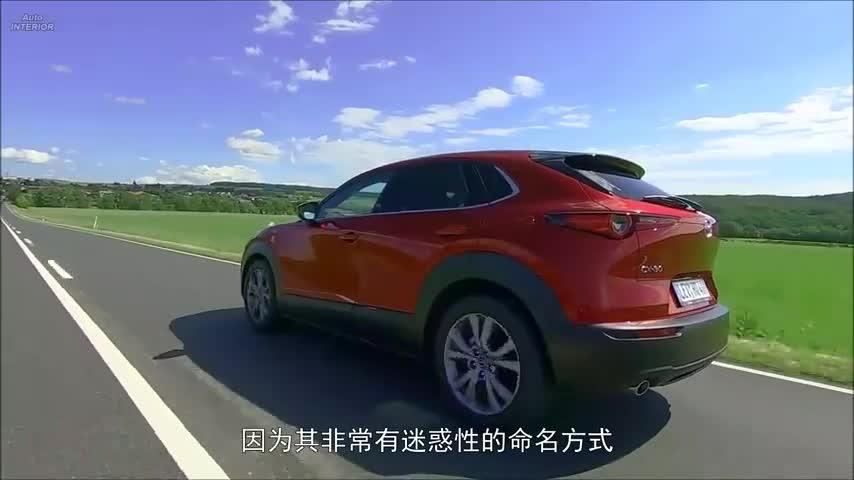视频:马自达的颜值没有上限2020MazdaCX-304驱版路试