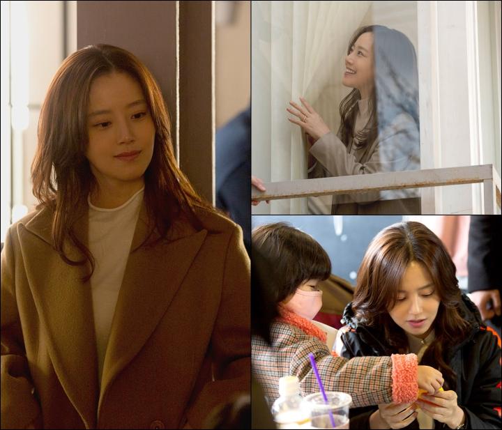 tvN《恶之花》近日曝光文彩元剧照 展现了她的各种情感