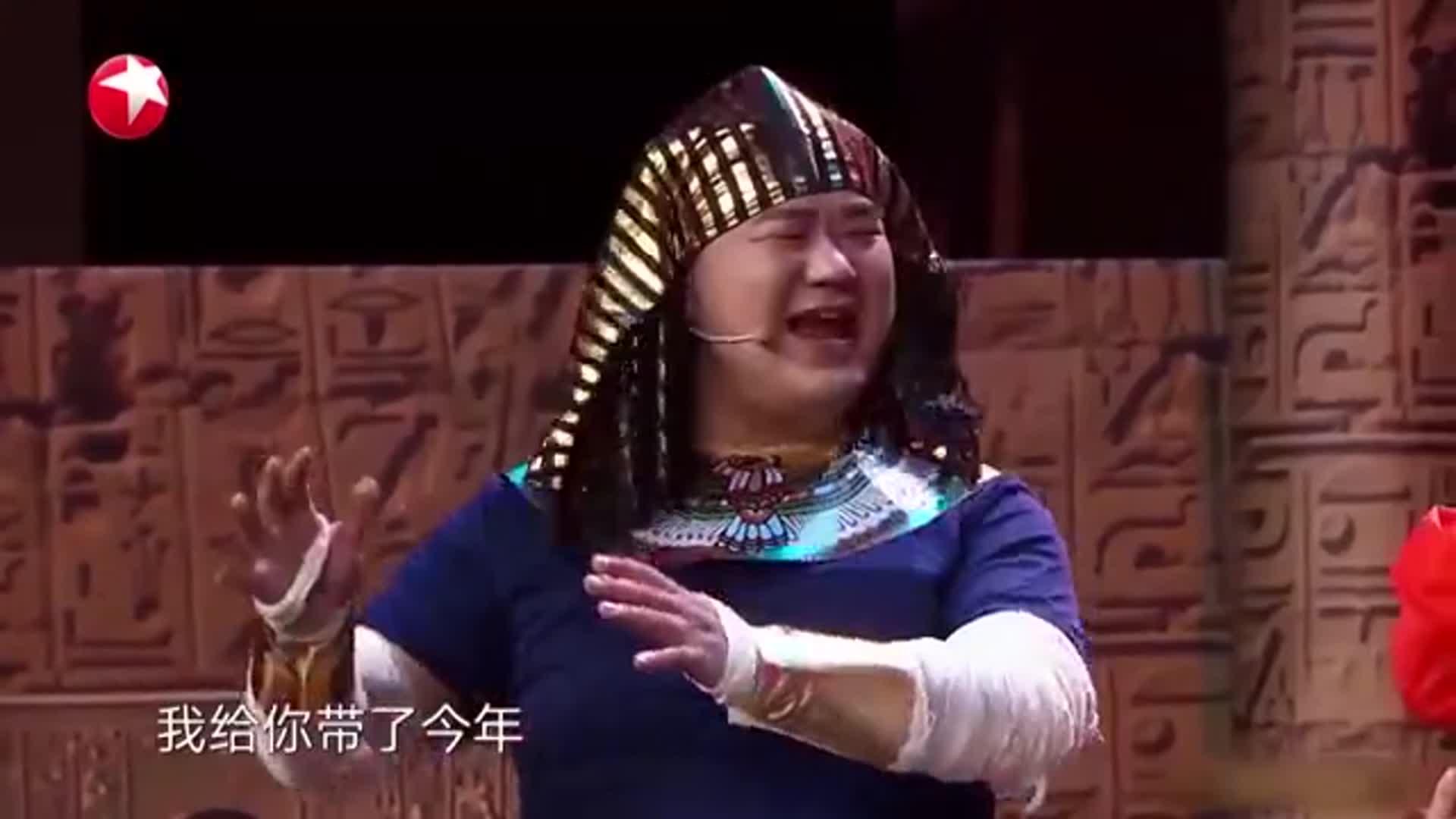 """宋宁变身""""法老"""",误入金字塔,《千年之恋》带你揭秘""""木乃伊"""""""