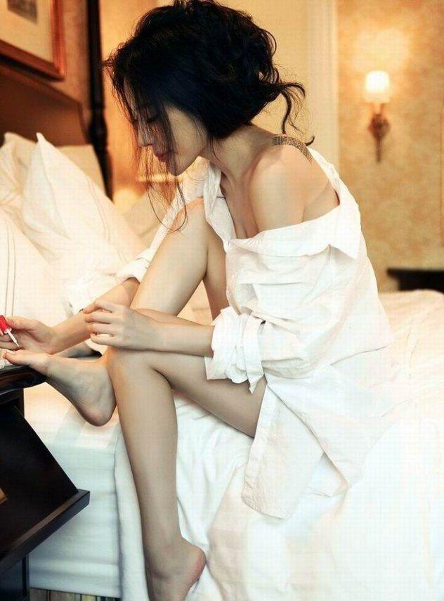 姜欣雨超长美腿写真集