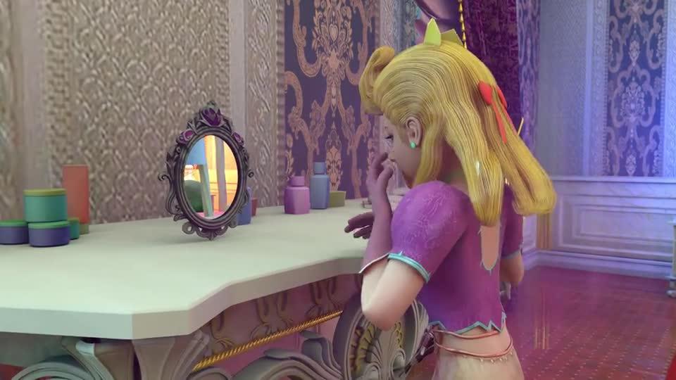 公主发现藏匿者,结果却被她们的感情感动,最终提出交易