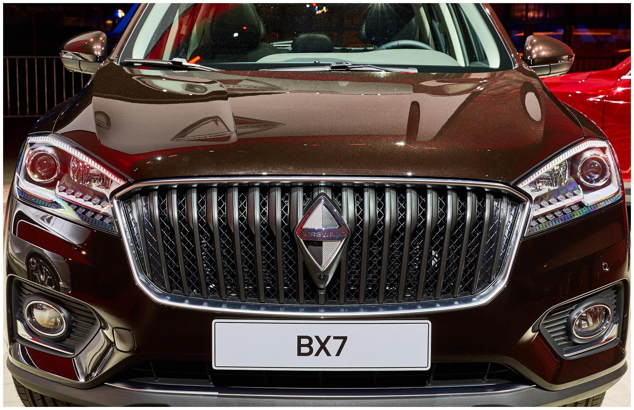 宝沃bx7外观飒立,品质出众,入手宝沃汽车需要犹豫吗