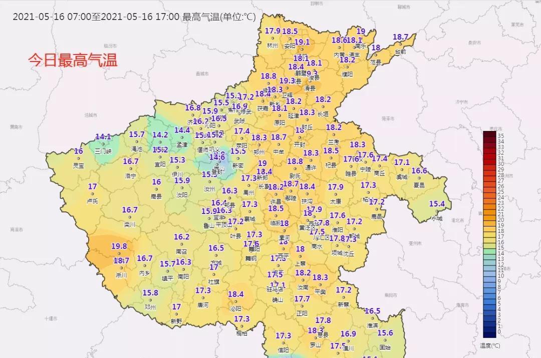 下周雨不多,气温升,20日再遇30℃