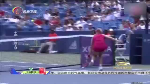 李娜拿下澳网冠军,发表调侃老公姜山的感言,将现场气氛推向高潮
