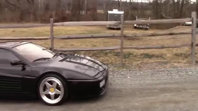 """视频:法拉利512TRvs保时捷911都是曾经的""""猛兽"""""""