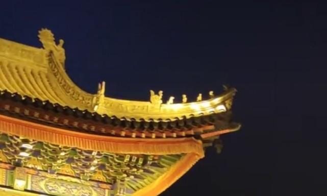 山西广化寺夜景,令人深深陶醉